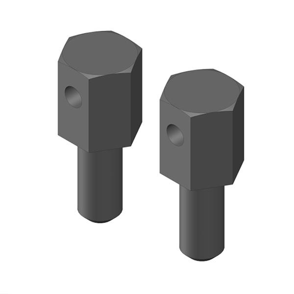 CORALLY BATTERY BRACE SCREWS 2 PCS