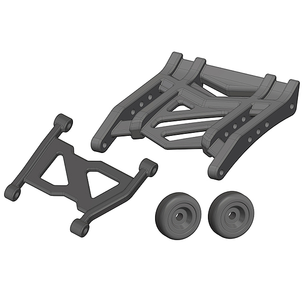 CORALLY WHEELIE BAR COMPOSITE 1 SET