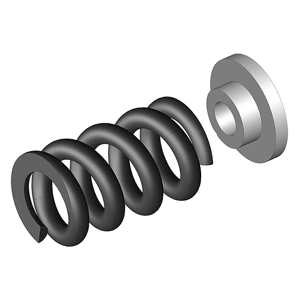 CORALLY SLIPPER CLUTCH SPRING 1 PC + WASHER