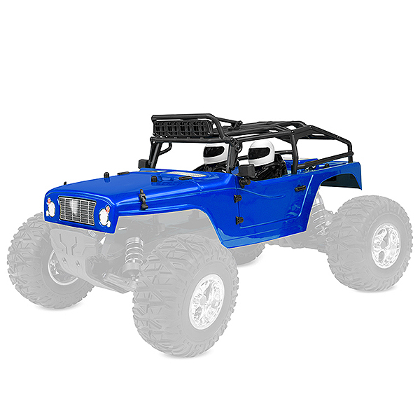CORALLY POLYCARBONATE BODY MOXOO SP PRINTED CUT BLUE