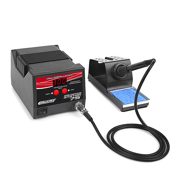 CORALLY SOLDERING STATION 75W UK PLUG