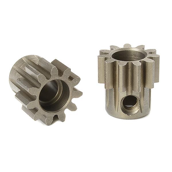 CORALLY M1.0 PINION SHORT HARDENED STEEL 11 TEETH SHAFT DIA. 5mm