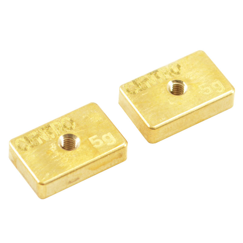 CENTRO PRECISION BRASS 5G BALANCING WEIGHTS (PR)