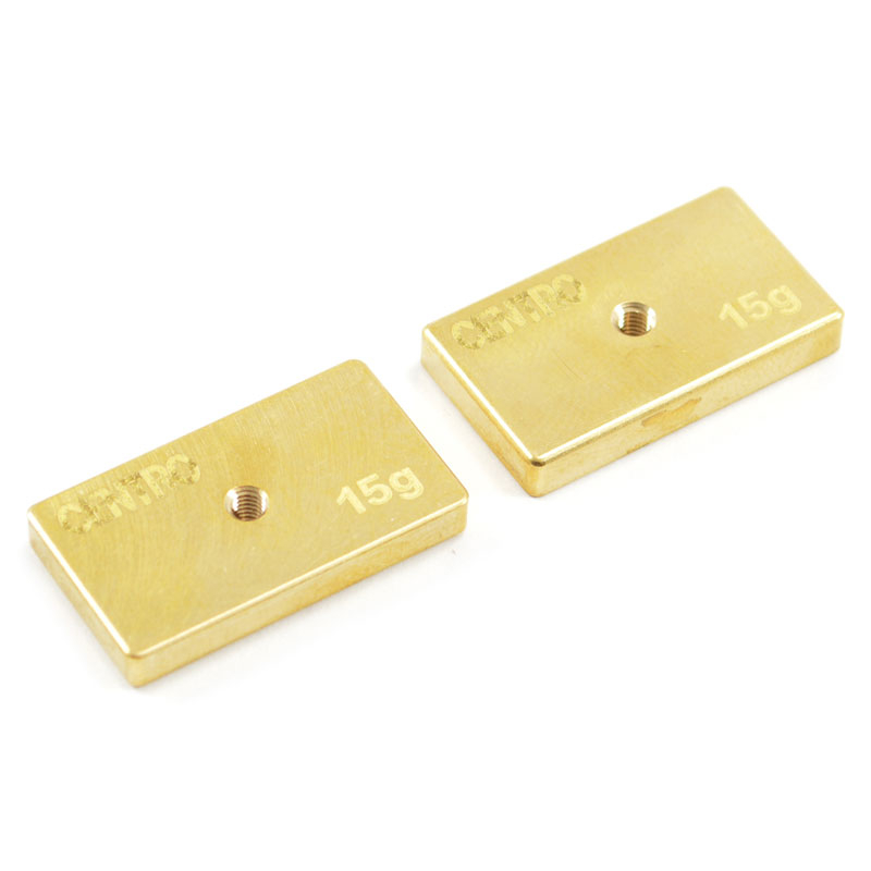 CENTRO PRECISION BRASS 15G BALANCING WEIGHTS (PR)