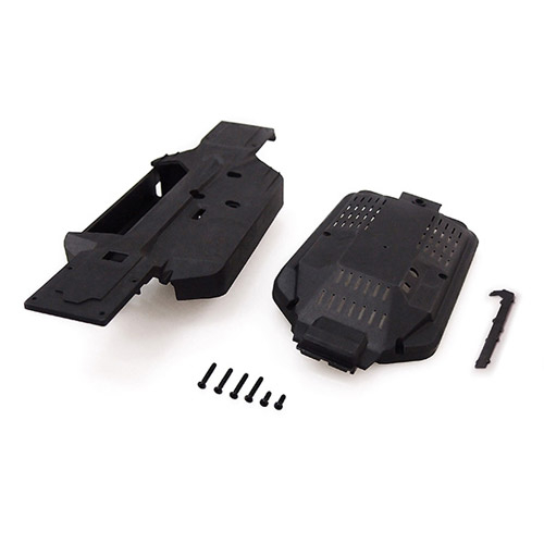 CARISMA GT24B CHASSIS AND COVER SET
