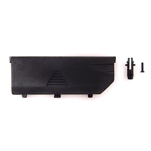 CARISMA GT24B BODY POST AND BATTERY COVER