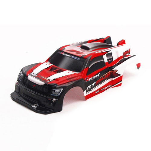 CARISMA GT24R PAINTED AND DECORATED BODY SET (RED)