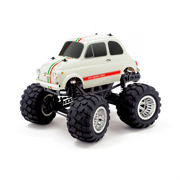 CEN RACING Q-SERIES FIAT ABARTH 595 1/12 SOLID AXLE RTR TRUCK RTR