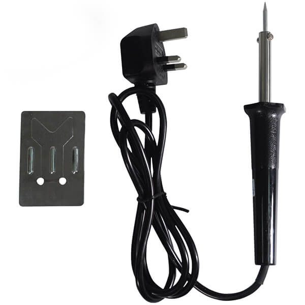 CML 30w SOLDERING IRON 240V SUPPLY w/STAND & 5g SOLDER