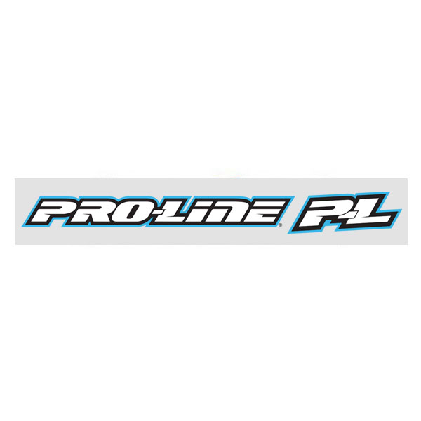 CML PRO-LINE BLUE WINDOW DECAL