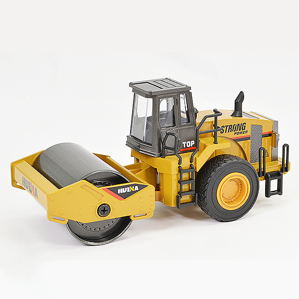 HUINA 1/40 DIECAST ROAD ROLLER STATIC MODEL