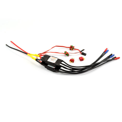 DYNAM 40A BRUSHLESS ESC X 2 TWIN WIRED (BF110)
