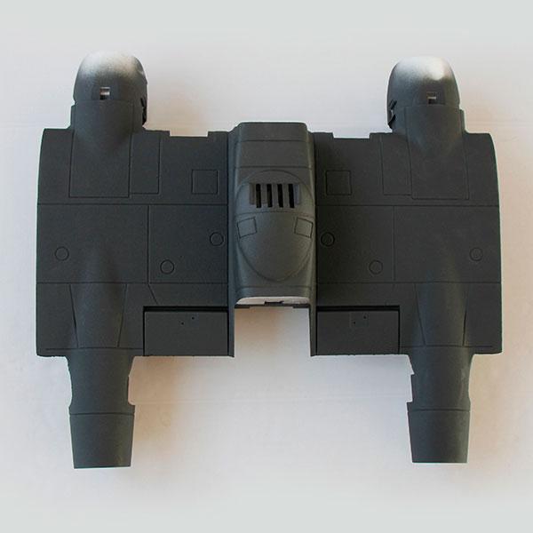 DYNAM P61 BLACK WIDOW MIDDLE WING SET