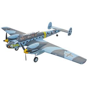 DYNAM MESSERSCHMITT BF110 1500mm WARBIRD w/o TX/RX/Batt