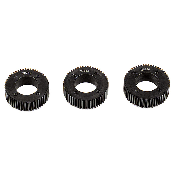ELEMENT RC FT STEALTH X DRIVE GEAR SET, MACHINED
