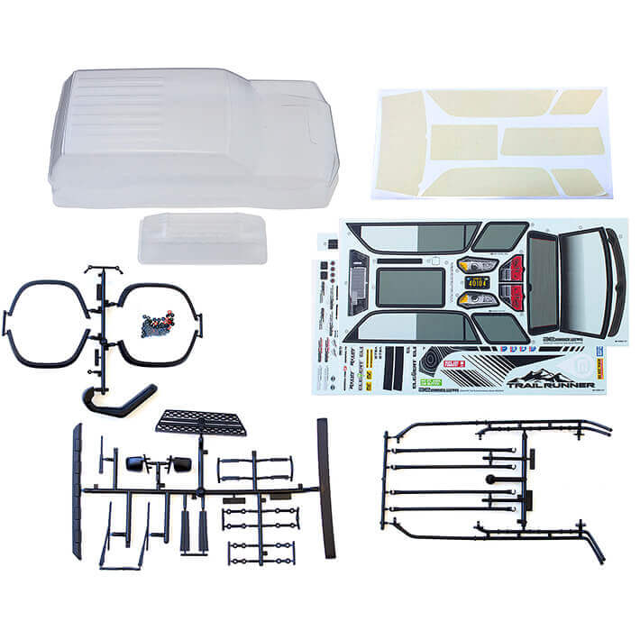 ELEMENT RC TRAILRUNNER BODY CLEAR WITH ACCESSORIES