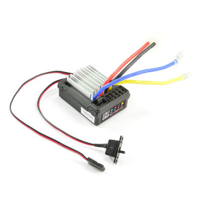 ETRONIX PROBE PLUS 2.0 BRUSHED WP ESC 7.4v 14t MOTOR LIMIT & LIPO CUTOFF