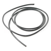 ETRONIX 14AWG SILICONE WIRE BLACK (100cm)