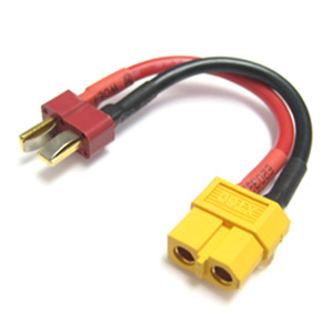 ETRONIX FEMALE XT-60 TO MALE DEAN PLUG CONNECTOR ADAPTOR