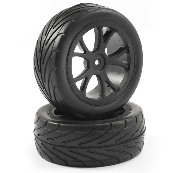 FASTRAX 1/10TH MOUNTED ARROW BUGGY FRONT TYRES 10-SPOKE