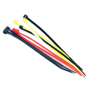 Fastrax Assorted 200mm x 2.5mm Cable/Nylon Tie Wraps (10pcs)