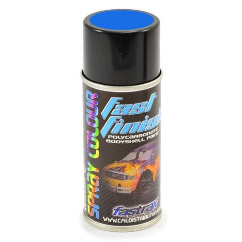 Fastrax Fast Finish Rally Blue Spray Paint 150ML