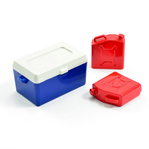 FASTRAX PAINTED ICE BUCKET & FUEL CANS