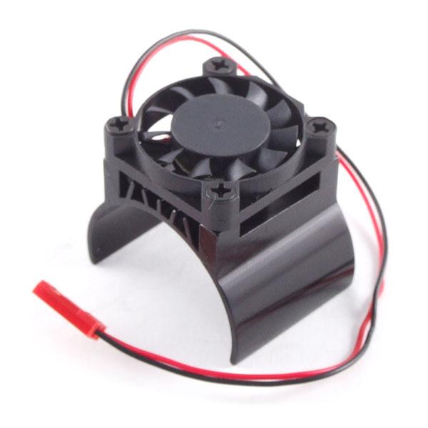 Fastrax Aluminium Motor Heatsink Fan Unit (Fan On Top)