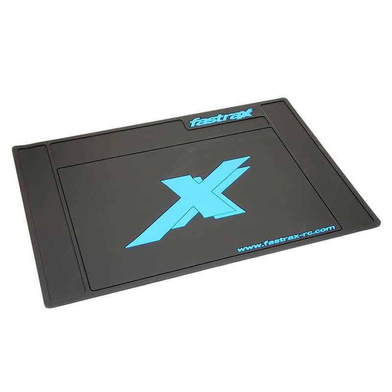 Fastrax Medium Pit Mat - Black 62cm X 42cm