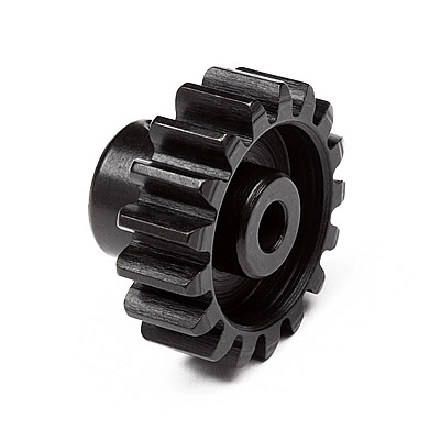 Fastrax 'Pro' Black Aluminium Pinion 43T