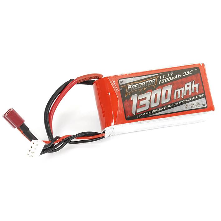 FMS 11.1V 3S 1300mAh LiPo Battery (Fox/Rafale/F4D-1/A4/ASW28/EZ)