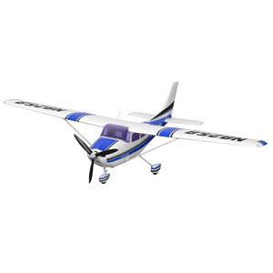 FMS CESSNA 182 SKY TRAINER BLUE ARTF 1400mm w/REFLEX GYRO