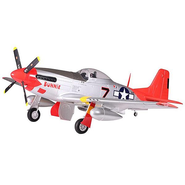 FMS 1700mm P-51 MUSTANG RED TAIL ARTF w/o TX/RX/BATT