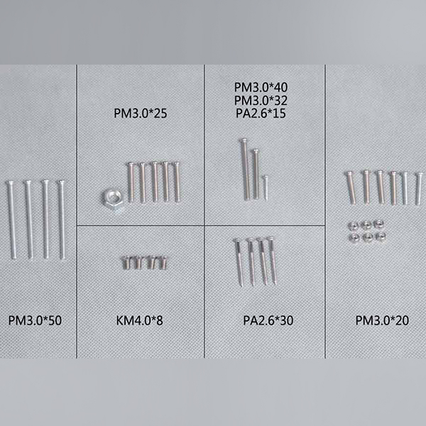 FMS P40B FLYING TIGER 2016 (1.4) SCREW SET