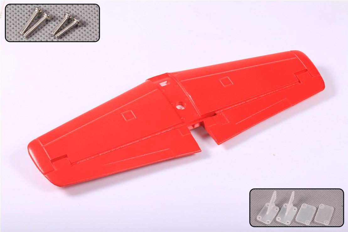 FMS P51 V7/V8 RED TAIL HORIZONTAL STABILIZER