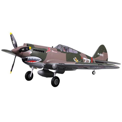 FMS 980mm P-40B FLYING TIGER ARTF w/o TX/RX/BATT HIGH SPEED