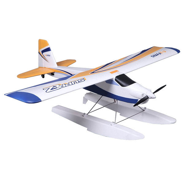 FMS 1220MM SUPER EZ TRAINER RTF V2 WITH WHEELS AND INCLUDES OPTIONAL FLOATS