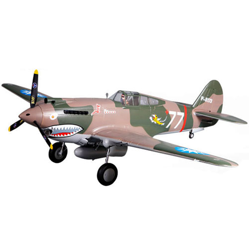 FMS 1400MM P-40B SUPER SCALE ARTF WARBIRD w/o TX/RX/BATT