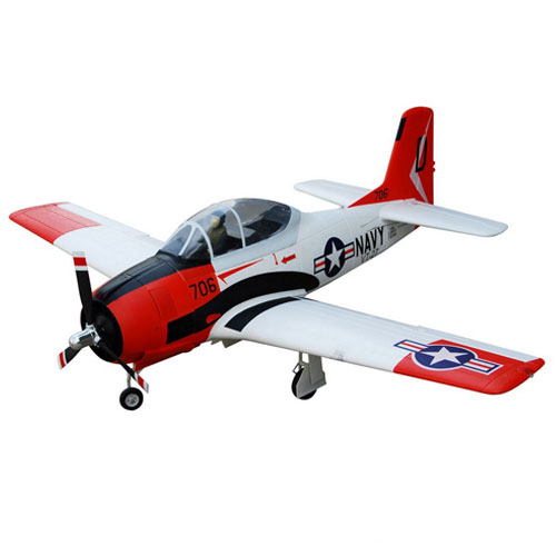 FMS 1400MM T-28D V4 SUPERSCALE ARTF w/o TX/RX/BATT RED/WHITE