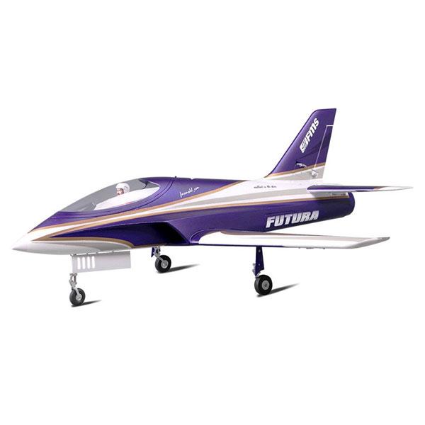 FMS 1060MM FUTURA 80MM EDF JET ARTF w/o TX/RX/BATT PURPLE
