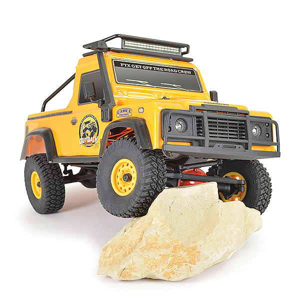 FTX OUTBACK RANGER XC PICK UP RTR 1:16 TRAIL CRAWLER - YELLOW