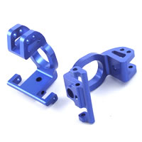 FTX Blue Aluminium Front C-Hubs (Rampage/Outrage)