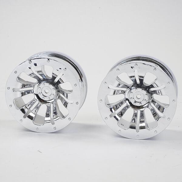 FTX CARNAGE WHEEL 2PCS - CHROME