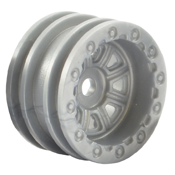 FTX OUTBACK MINI WHEEL SET - GREY (4PC)