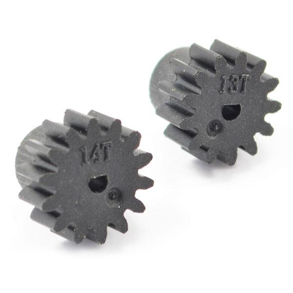 FTX COMET PINION GEARS PLASTIC 13/14T (0.6MOD)