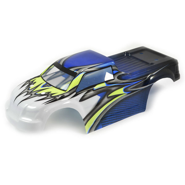 FTX COMET MONSTER TRUCK BODYSHELL PAINTED BLUE/YELLOW