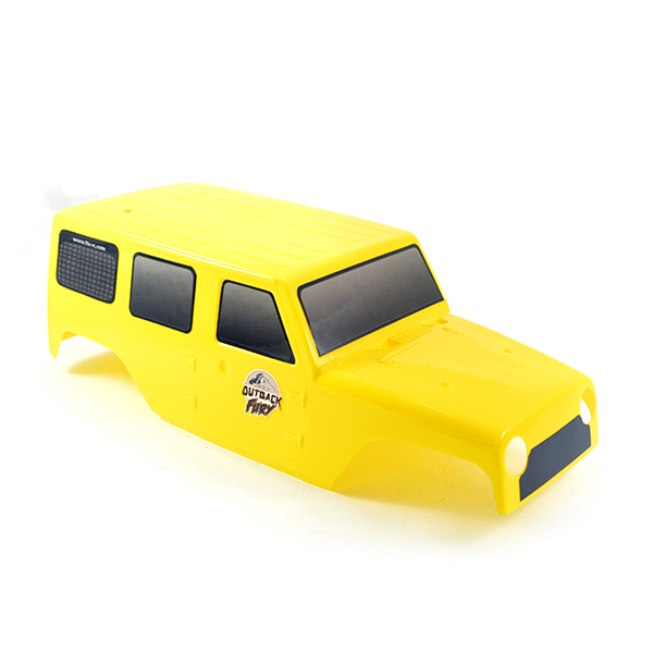 FTX OUTBACK FURY BODYSHELL PVC - YELLOW