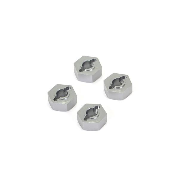 FTX FURY X ALUMINIUM WHEEL HEXES W/PINS (4PC)