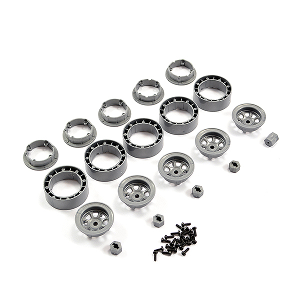 FTX MINI OUTBACK 2.0 BEAD LOCK WHEEL SET (5)