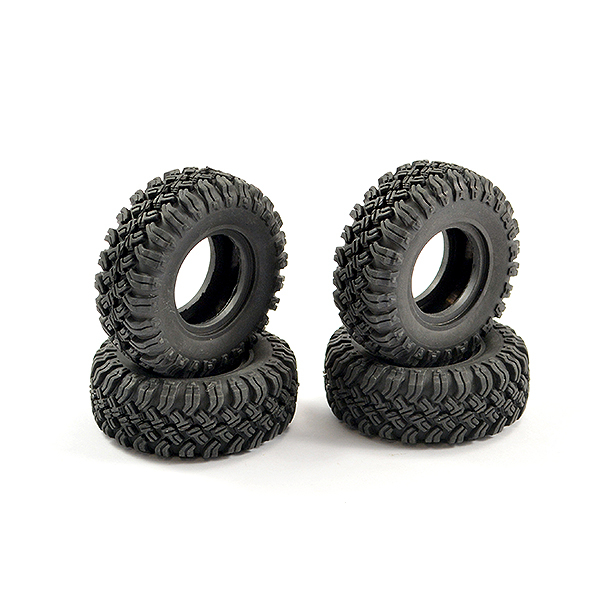 FTX MINI OUTBACK 2.0 SUPER SOFT CRAWLER TYRES (4)